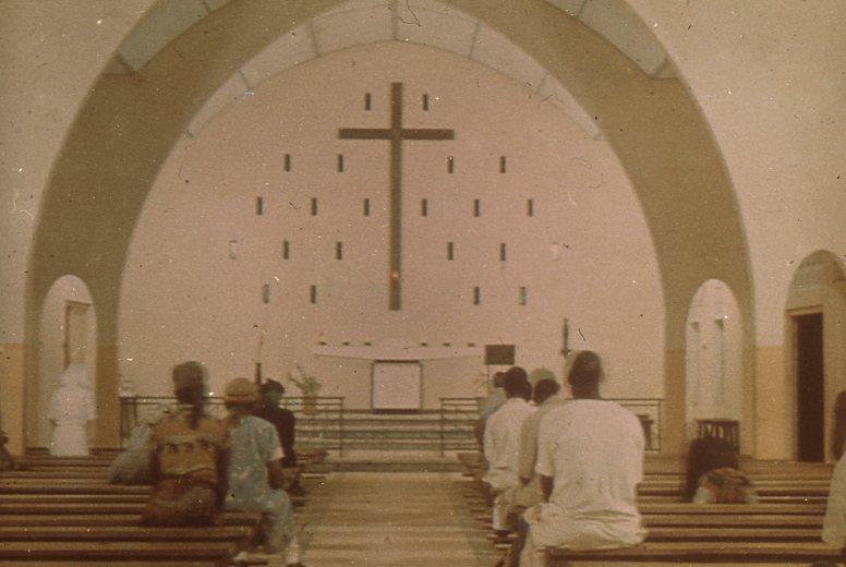 Eglise dédiée aux martyrs de l'Ouganda