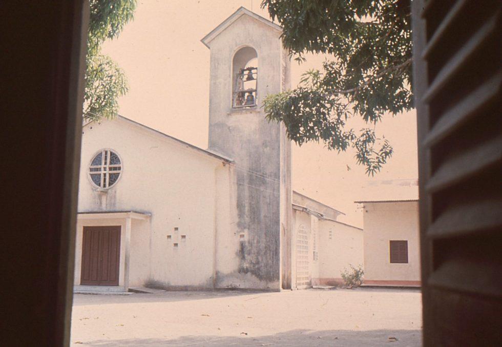 L'Eglise vue de sa fenêtre