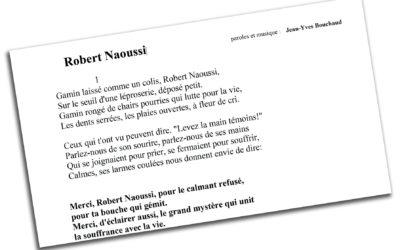 Une chanson pour Robert Naoussi