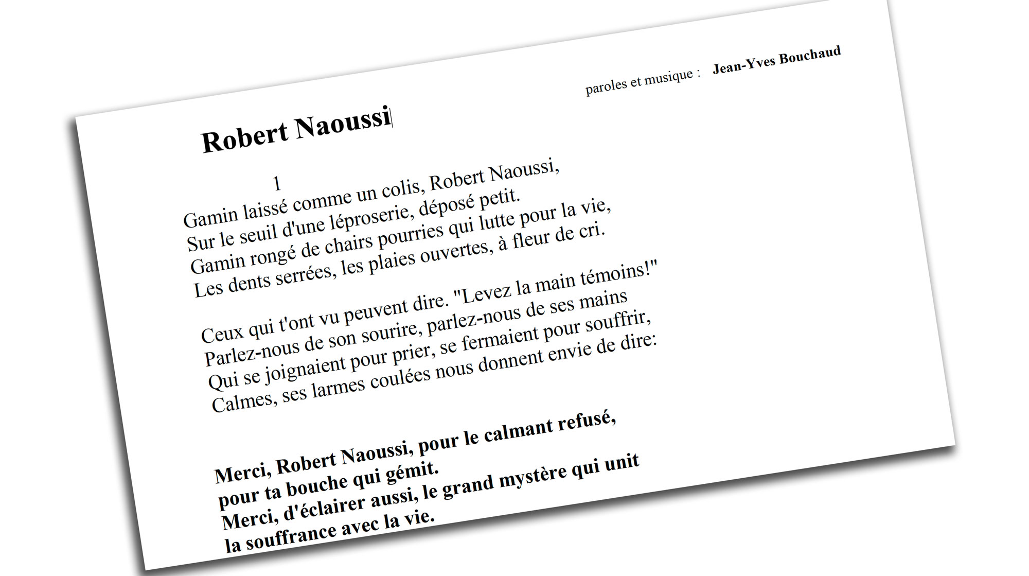 chanson Jean-Yves Bouchaud